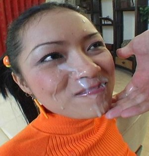 Cum On Face Asian Pics